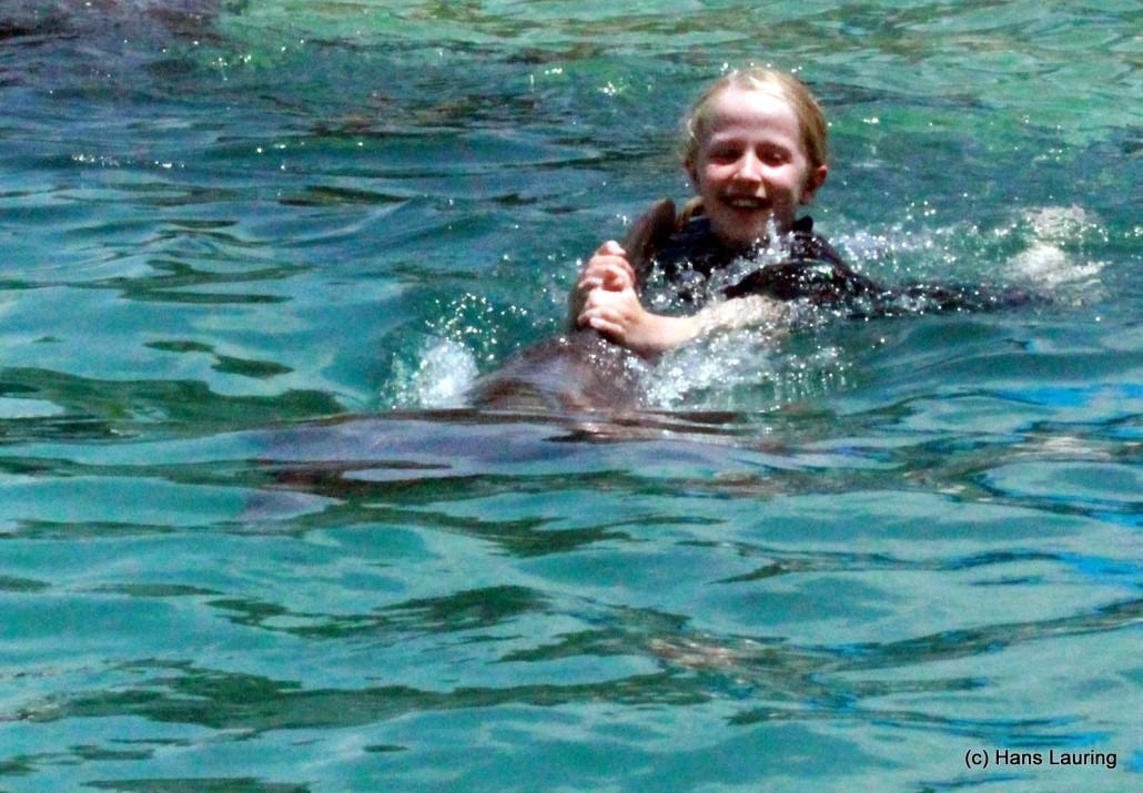 Da Hannah mødte delfinen Star